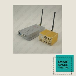 Wireless monitoring and transmission 1.5W four channel wireless video and audio