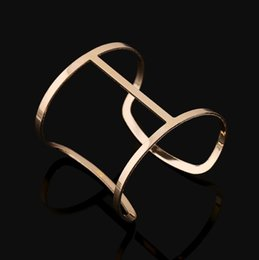 New Women Bangle Simple Fashion High Quality Alloy Mirrored Polished Bangle Bracelets for Wholesale Free Shipping