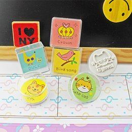 Wholesale Mix to order cute adorable pet family acrylic seal DD738