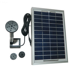 Wholesale 380L H Polycrystalline Silicon Cycle Pond Fountain Solar Fountain Solar Water Pump Aquarium Pumps