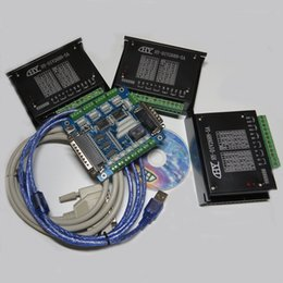 Wholesale Hot Brand New CNC router mill Kit Axis Axis Breakout Board TB6600HG Stepper Motor Driver Board Controller