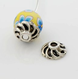 Wholesale 2016 hot x9 mm Antique Silver Bali Style Design Windmill Bead Cap Jewelry Findings Components L1035
