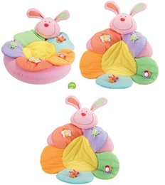 Wholesale rabbit Promotion ELC Blossom Farm Sit Me Up Cosy Baby Seat Play MatPlay Nest Sofa Infant Bed Inflatable baby game pad carpet GE