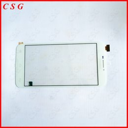 Wholesale Original New White For quot Archos Xenon smartphone touch Screen Touch Panel Glass Sensor Digitizer Replacement