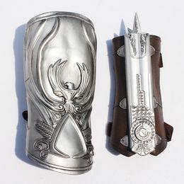 NECA Assassin's Creed Hidden Blade Brotherhood Ezio Auditore Gauntlet Replica Cosplay Chritmas best gift Free shipping