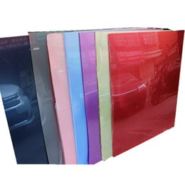 Wholesale 30 color high grade acrylic sheet plexiglass mm mm transparent and clear reflective pearlescent pigments Home decoration materials