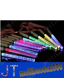Wholesale New Christmas Toys LED Cheer Glow Sticks Acrylic Bubble Flash Wand For Kids Toys Concert Bar Party Supplies MYY3789A