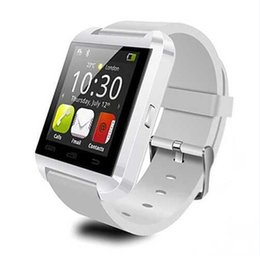 Wholesale U8 Smart Buletooth Watch Phone U Watch Wristwatch With quot Capacitive Touch Screen Unlocked GSM