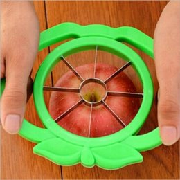 Wholesale Apple cutter knife corers fruit slicer Multi function ABS stainless steel kitchen cooking Vegetable Tools Chopper