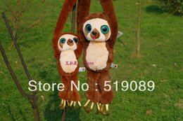 Wholesale Croods Monkey Belt - Free shipping 1pcs 45cm Belt Monkey Plush Toy, THE CROODS Monkey Stuffed Doll For Baby  Kids Gift