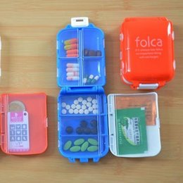 Wholesale ealth Care Pill Cases Splitters Hot Sale New Sex Products Pill Case Pastillero Container for Tablets Portable Folding Vitamin Medici