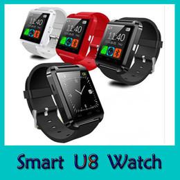 2017 écran tactile pour samsung U8 Montre Bluetooth SmartWatch Montre à écran tactile pour iPhone Samsung HTC LG Huawei Android Téléphone portable Répondre Livraison gratuite écran tactile pour samsung ventes
