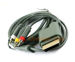 FD18 HD TV Component Composite Audio Video AV Cable for Xbox360 Brand New