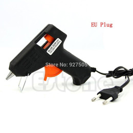 Wholesale C18 EU Plug W Electric Heating Hot Melt Glue Gun Sticks Trigger Art Repair Tool mm Hot Melt Glue Sticks