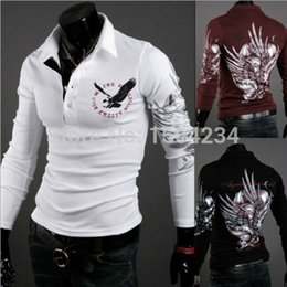 Wholesale Hot sale New Fashion Polo men s long sleeve cool shirt fashion polo shirt with the best price and top quality