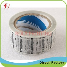 Wholesale Customized Avery Paper Barcode Label