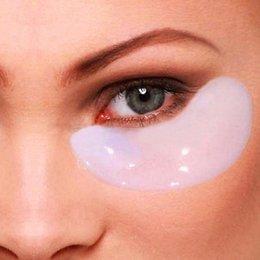 New 10 pcs Crystal Collagen Eye Mask Sheet Packs Anti Wrinkles,Dark Circles,Bags # M01088