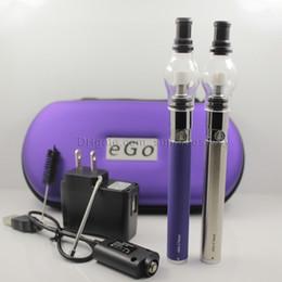 Glass globe tank eGo-c Twist starter kit E cigarette 1300mah 1100mah 900mah 650mah ego cigarette Glass atomzier glass double kit CA0096