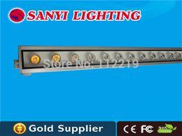 90 to 265V 110v 220v outdoor 1000MM 1M LED wall washer light 24W red blue yellow outdoor LED wall light LED wall floodlight