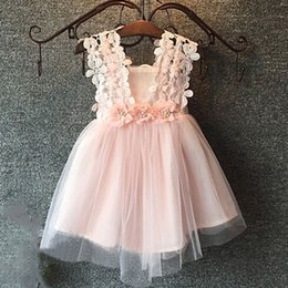 Wholesale Hug me Baby Girls Clothes Lace Tutu Dresses Childrens Prubcess Sequins Dresses for Kids Clothing Winter Summer Party Dress ZZ