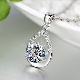 925 sterling silver jewelry wholesale fashion star with silver pendant necklace item ornaments wholesale belief Valentine's Day to send his