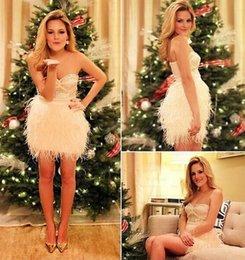 Wholesale Sweetheart Glitter Sequin Short Dress - 2016 Christmas Party Dresses Short Cocktail Dresses Hot Sheath Sweetheart Glitter Sequins and Tassel Zipper Back Homecoming Dresses Handmade
