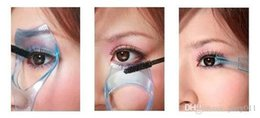 New Arrival Triple Dimensional Crystal Eyelashes Card Eyeliner Aid Eyelash Curler Makeup Tool Drop Shipping MU-087