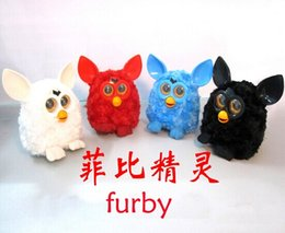 Wholesale 2014 new Furby electric smart phoebe elves Doll Talking plush electronic pet toys free shpping