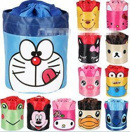 Wholesale Portable Insulated Children Cute Cartoon Lunch Box Picnic Carry Tote Storage Bag Cartoon Bags lunch box LJJH391