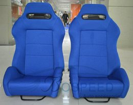 Wholesale Racing seat modification blue fireproof racing chairs adjustable SPD car seats