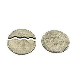 Wholesale Bite and Restore Coin Biting Folding Coin magic tricks magic props magic toys