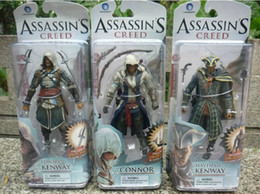 2016 6inch 15cm NECA figures Three generations NECA Assassin's Creed II 2 Ezio Standard Figure doll toys for kids
