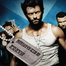 Wholesale The latest European and American popular X Men series Wolverine vintage pendant necklace A060