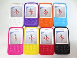 Case for BlackBerry Q5 silicone 3D phone cases with keypad original mobile covers soft defender with retail package wholesale