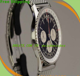 Wholesale LUXURY WATCHES Fashion Watch Mens Watches Equipped original box Brand BB N a vitimer Luxury In House Chronograph Watch on Bracelet AB0120