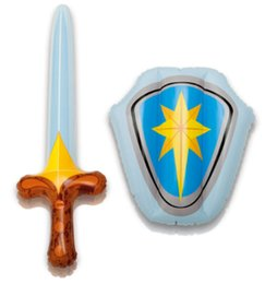 NTEX Toy Halloween Inflatable Sword Shield Kids Toy Set Party Accessory Sword Toy Free Shipping