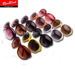 10colors Available 2015 classic fashion star style UV400 coating brand big oval sunglasses Women Sexy Lady Eyewear sg060