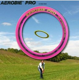 Wholesale Aerobie ring to fly ultimate frisbee sports toys magic ring UFO inches