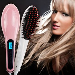 Wholesale Beautiful Star NASV Hair Straighener Automatic LCD pink white color Anion Hair Care Temperature Control Zero Damage