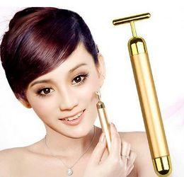 Wholesale Face Massager Facial Roller Serum Massage Derma Skincare Wrinkle Treatment Energy Beauty Bar Care Massage