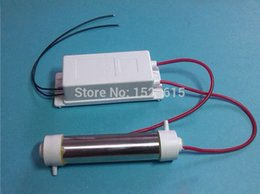 Wholesale New Design Type latest AC V g Ozone Generator Ozone Tube DIY g hr for WATER Plant Purifier W PLug DIY Weld