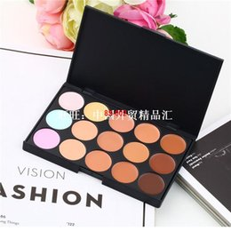1pc New Professional 15 Color Make Up Cream Camouflage Conce