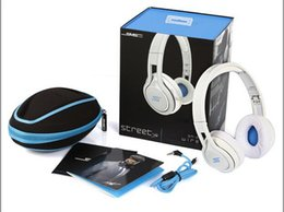 Wholesale SMS Audio SYNC STREET by Cent Headphone Over Ear Wired Headphones SL Bluetooth Headphone
