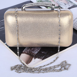 Wholesale Factory brand new handmade fantastic PU evening bag clutch purse with satin for wedding banquet party porm(More colors)