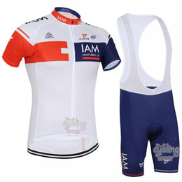 2016 IAM Team Ropa Ciclismo Cycling Jersey Short Sleeve Mountain Bike Cycling Clothing  MTB Bicycle Clothes Cycle Sport Wear