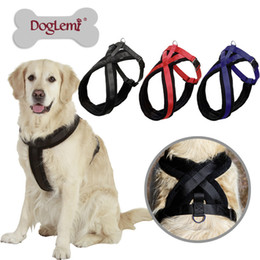Wholesale Thicken Lint Pet Harness Large Dogs Harnesses Dog Outdoor Supplies
