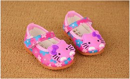 2015 children sneaker shoes kids printing female baby leather shoes for girl size 11 - 13 cm