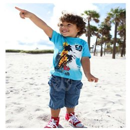 free shipping kids clothes boy clothing 100% cotton set short sleeve t shirt+pants children clothing blue free shipping