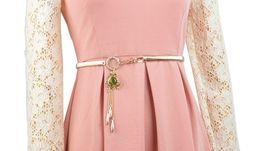 Wholesale Gold Tone Women s Ladies Rhinestone Class Crystal Frog Waist Belly Body Chain Dance Bridal Wedding ST101