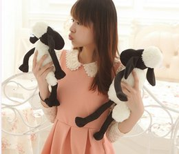 Wholesale 2015 New Fashion baby boys girls cm Plush toys Shaun the sheep doll cute creative Dolly the sheep lamb doll doll Children s gifts